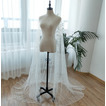Manteau de mariée en tulle manteau long châle 200CM