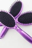 violet en plastique Massage soins ovale parure