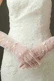 Gant de mariage Pailleté Ombre Translucide Sexy Automne Doigt complet