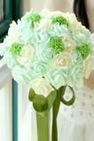 Le bouquet mariée main bouquet mariage studio accessoires