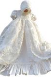 Robe cérémonie fille Princesse Tissu Dentelle Formelle Taille Empire Manche Courte