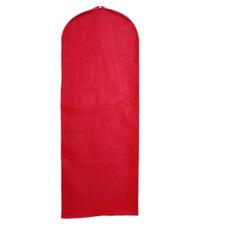 Mariage robe pare-poussière rouge étanche à la poussière solide couvercle pare-poussière