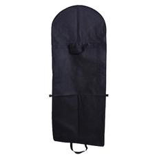 Tissu non tissé noir et robe grand pare-poussière Sac cache-poussière pliage robe de mariée