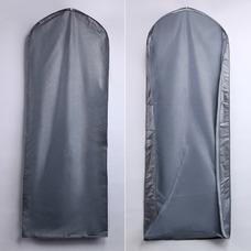 Robe transparente de Wan argent pare-poussière poussière ensemble de robes de mariée