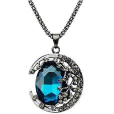 Collier femmes nouveauté cristal alliage Bijoux Collier rétro