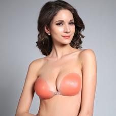 couleur de la peau Breast Enhancement Anti vidé réuni soutien-gorge Invisible Stealth