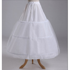 Jupon de mariage la norme Longue Chaîne Robe de mariée Trois jantes