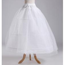Jupon de mariage À la mode Trois jantes Chaîne la norme Longue Robe de mariée