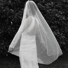 120CM voile de perle de mariée Voile Short Voile accessoires de mariage