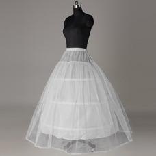 Jupon de mariage Longue Découpe de dentelle la norme Robe de mariée