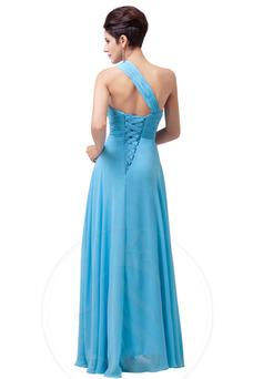 Robe de fête Lacet A-ligne Fourreau Avec Bijoux Perle Taille Naturel