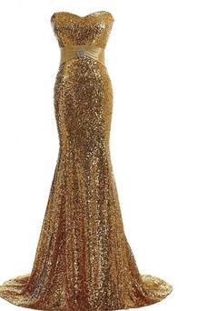 Robe de bal Pomme Sirène Col en Cœur Zip Étoilé Taille Naturel