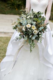 Robe de mariée Traîne Mi-longue Manche Aérienne Salle Col Bateau A-ligne
