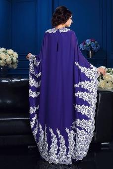 Robe mère de mariée Elégant Taille Naturel Manche Lâche Longueur Cheville