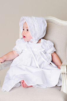 Robe cérémonie fille Longueur ras du Sol Manche Courte Manquant Princesse