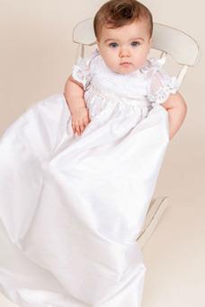 Robe cérémonie fille Col haut Printemps Haute Couvert Manquant Appliques