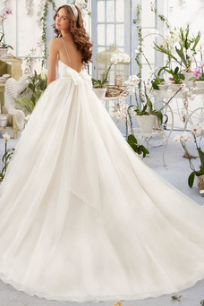 Robe de mariée Tulle Salle Taille Naturel Vintage Printemps Dos nu