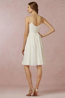 Robe de mariée Mode de Bal Taille Naturel Sans Manches Zip De plein air