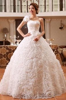 Robe de mariée Satin Eglise Princesse Taille Naturel Lacet Sans Manches