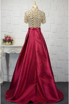 Robe de soirée Taille Naturel Ample & Ornée Fourreau Avec Bijoux Automne