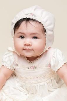 Robe cérémonie fille Broderie Princesse Manquant Longueur ras du Sol Formelle