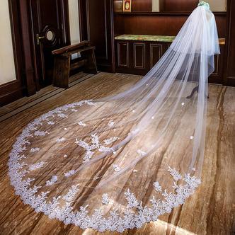 Voile de mariée long voile de dentelle voile de queue de mariage - Page 2