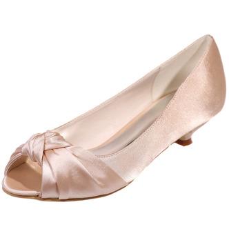 Chaussures de mariée chaussures de mariage bouche de poisson chaussures de soirée en satin - Page 6