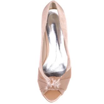 Chaussures de mariée chaussures de mariage bouche de poisson chaussures de soirée en satin - Page 8
