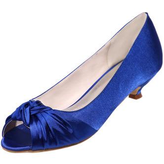 Chaussures de mariée chaussures de mariage bouche de poisson chaussures de soirée en satin - Page 3