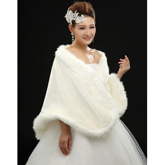 Châle de mariage Crystal Floral Pin Automne Épais Grandes places Blanc - Page 2