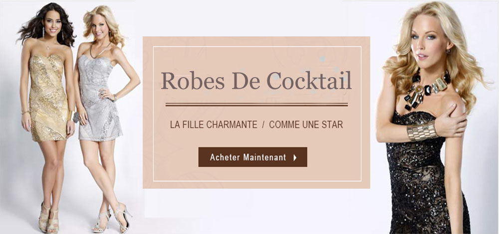 {domain_mini} Robes de cocktail